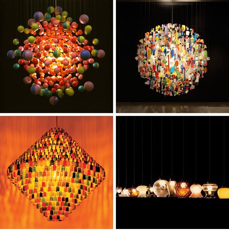 Chandeliers by Stuart Haygarth
