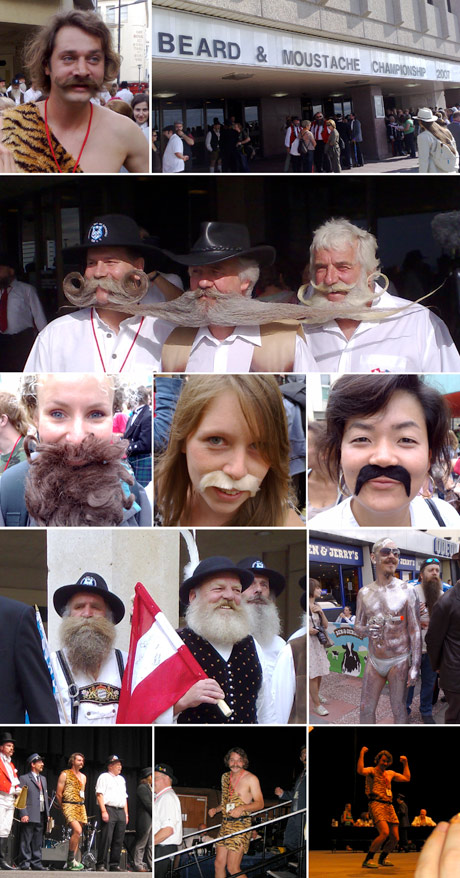 Photo compilation of the World Beard & Moustache Championships 2007
