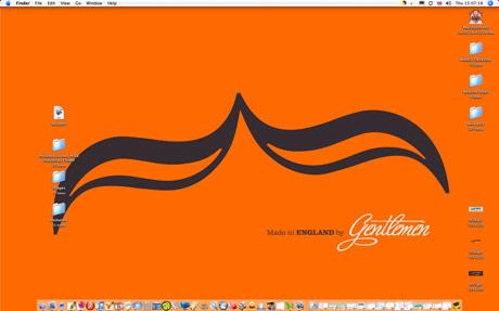 Weekly Desktop 12 Orange