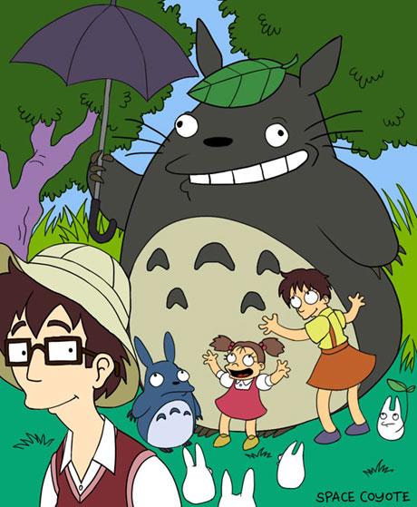 Totoro/Simpons