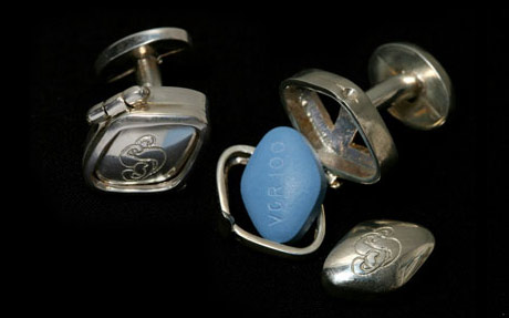Viagra Cuff Links by Social Suicide