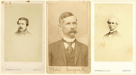 vinatge photographs of moustaches