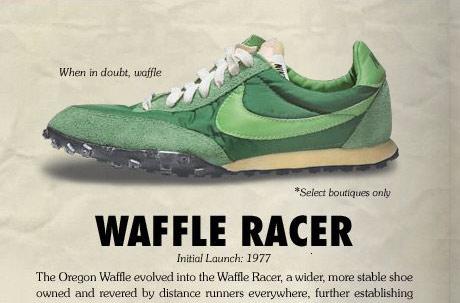 Nike vintage waffle racer