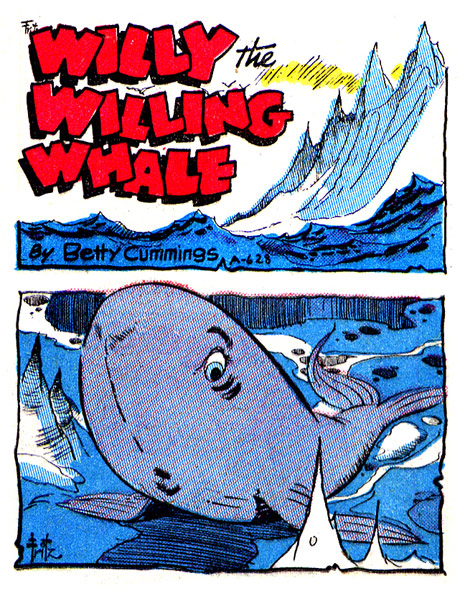 Willy the willing Whale