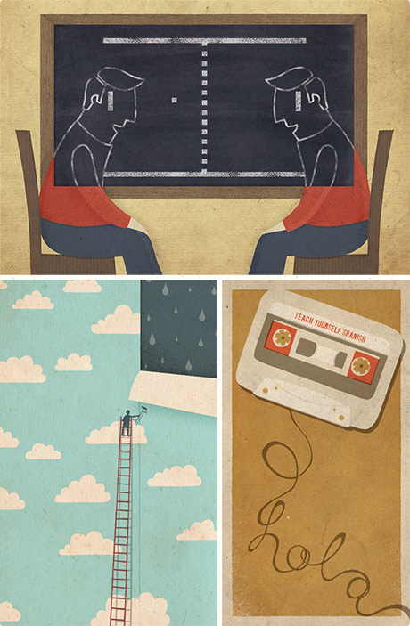 Zara Picken's illustration work