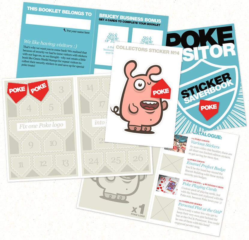 Poke Sticker Saverbook