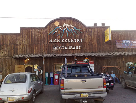 High Country Restaurant in Chama