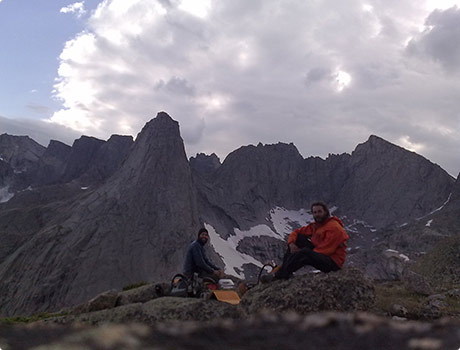 Camping in the Cirque of the Towers