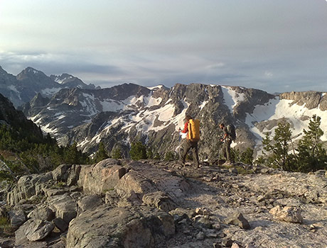 Littles Peak east ridge