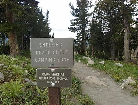 Death Shelf Camping Zone