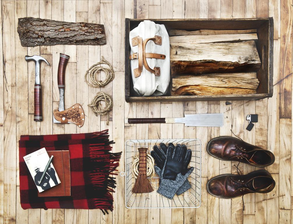 Woodman's stuff